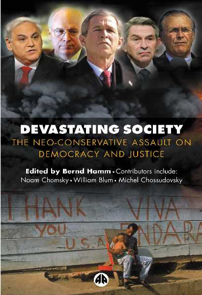 08ff8 pages2bde2bdevastating2bsociety - Devastating Society The Neo-Conservative Assault on Democracy and Justice PDF - Noam Chomsky and Others