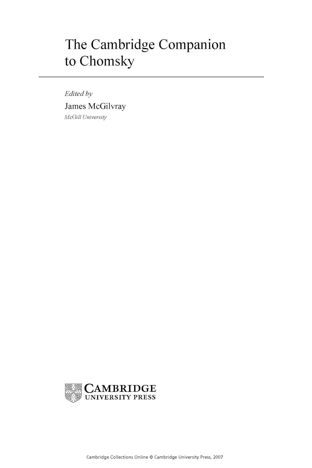 9d238 pages2bde2bthe2bcambridge2bcompanion2bto2bchomsky - The Cambridge Companion To Chomsky PDF -James MeGilvray